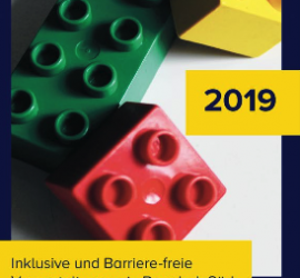 """Der Flyer für 2019 zum Projekt """"Kleine Steine - Große Wirkung"""""""